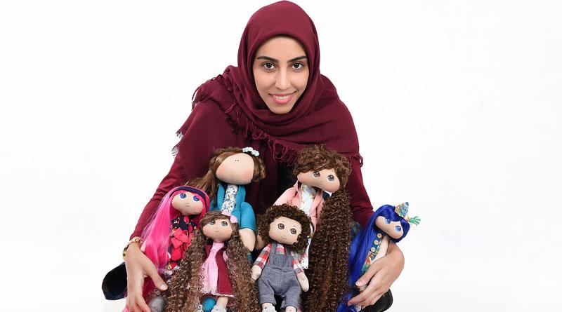 عروسک ساز جوان و موفق؛ با درآمد دو تا سه میلیون تومانی در ماه