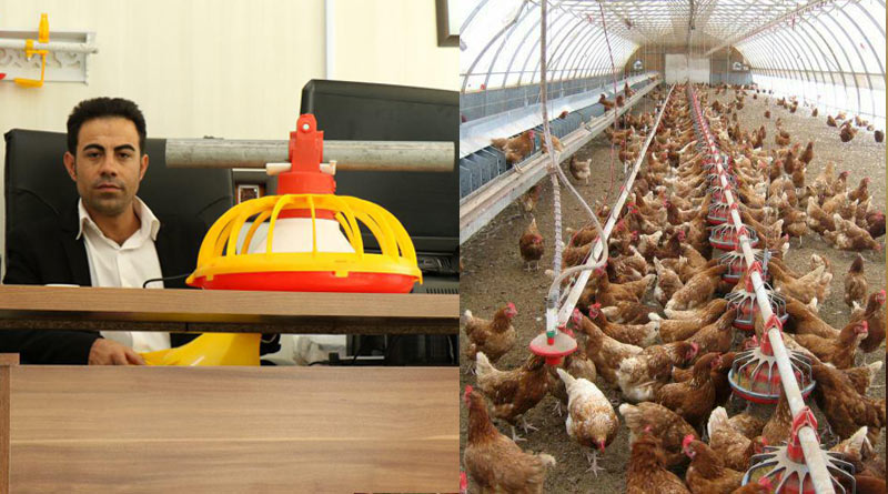 پانزده تا بیست درصد سود خالص در تولید تجهیزات مرغداری