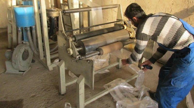 کیسههای درآمدزای کارگاه تولید نایلکس