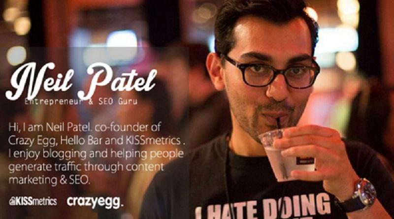 گفتگو با نیل پاتل : کارآفرین موفقی که تولید محتوا میکند!