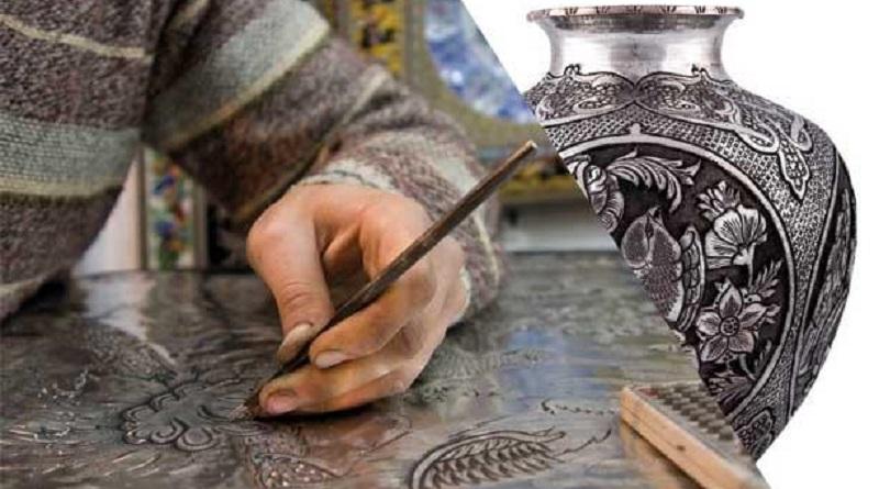 قلمزنی یا قلمکاری کارآفرینی هنر دستی با سرمایه کم
