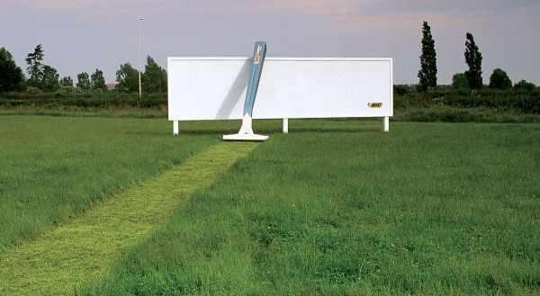 ردپای خلاقیت در تبلیغات بیلبوردی