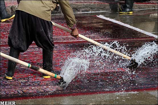 افزایش درآمد و کسب رضایت مشتری در قالیشویی