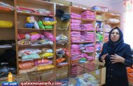 یک تدریس ساده خیاطی بانوی گنبدی را کارآفرین برتر کشور کرد